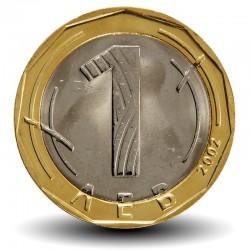 BULGARIE - PIECE de 1 LEV - 2002