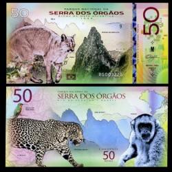 NATIONAL PARK / PARC NATIONAUX - Parc national de Serra dos Órgãos - Billet de 50 Reais - PUMA - 2018