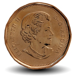 CANADA - PIECE de 1 DOLLAR - Centenaire de Parcs Canada 1911-2011 - 2011
