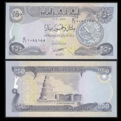 IRAK - Billet de 250 Dinars - 2003