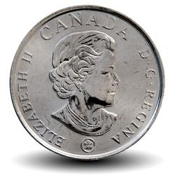 CANADA - PIECE de 25 CENTS - Coquelicot - 2008