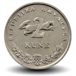 CROATIE - PIECE de 2 Kune - 1995 - FAO