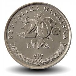 CROATIE - PIECE de 20 Lipa - 1995 - FAO