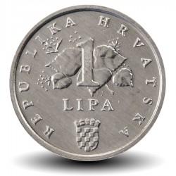 CROATIE - PIECE de 1 Lipa - Epi de Mais - 1995