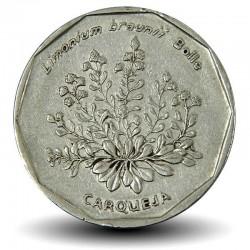 CAP VERT - PIECE de 20 ESCUDOS - Fleurs carqueja - 1994 Km#33