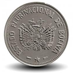 BOLIVIE - PIECE de 20 Centavos - 2012
