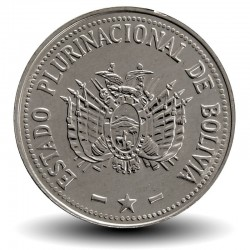 BOLIVIE - PIECE de 20 Centavos - 2012