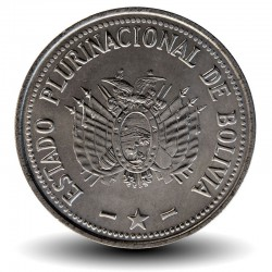 BOLIVIE - PIECE de 50 Centavos - 2010