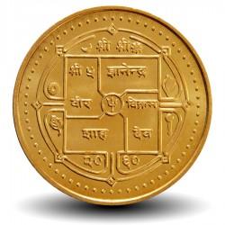 NEPAL - Pièce de 2 Roupies - Temple - 2003