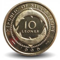 SIERRA LEONE - Pièce de 10 Leones - Mammy Yoko - 1996