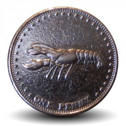 TRISTAN DA CUNHA - PIECE de 1 Penny - Langouste - 2008 Km#28