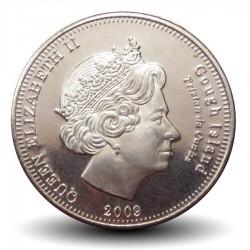 ILE GOUGH / TRISTAN DA CUNHA - PIECE de 5 Pence - Pingouins - 2009