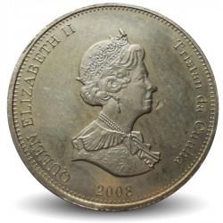 TRISTAN DA CUNHA - PIECE de 5 Pence - Tortue - 2008