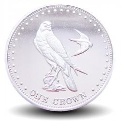 ILE GOUGH / TRISTAN DA CUNHA - PIECE de 1 Couronne - Oiseaux - 2009