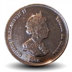TRISTAN DA CUNHA - PIECE de 2 Pence - Une janthine - 2008