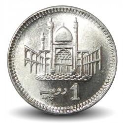 PAKISTAN - PIECE de 1 Roupie - Muhammad Ali Jinnah - 2018 Km#67
