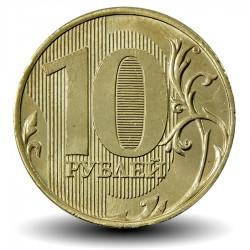 RUSSIE - PIECE de 10 Roubles - 2017