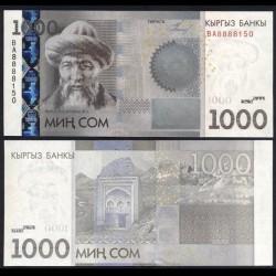 KIRGHIZISTAN - Billet de 1000 Som - Zhusup Balasagyn - 2010