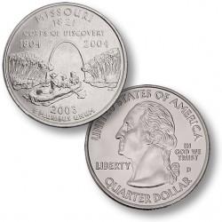 ETATS-UNIS / USA - PIECE de 25 Cents (Quarter States) - Missouri - 2003