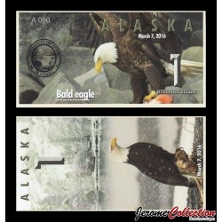 ALASKA - Billet de 1 Northern DOLLAR - 2016