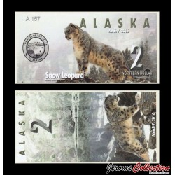 ALASKA - Billet de 2 Northern DOLLAR - 2016