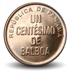 PANAMA - PIECE de 1 centésimo de BALBOA - Urracá - 2017