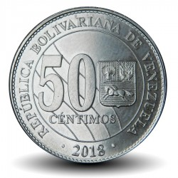 VENEZUELA - PIECE de 50 Centimos - 2018 Y#new