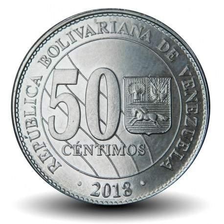 VENEZUELA - PIECE de 50 Centimos - 2018