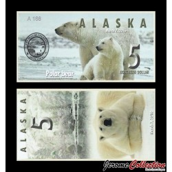 ALASKA - Billet de 5 Northern DOLLAR - 2016