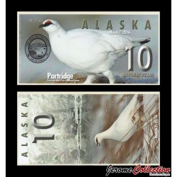 ALASKA - 10 Northern DOLLAR - 2016