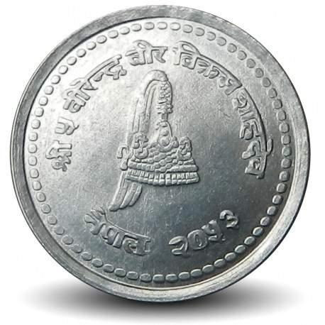 NEPAL - Pièce de 50 Paisa - Bodnath - 1996