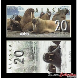 ALASKA - Billet de 20 Northern DOLLAR - 2016