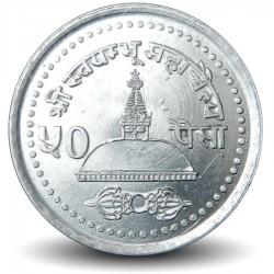 NEPAL - PIECE de 50 Paisa - Bodnath - 2002 - २०५९