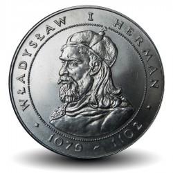 POLOGNE - PIECE de 50 Zlotych - Les rois de Pologne: Ladislas Ier Herman - 1981