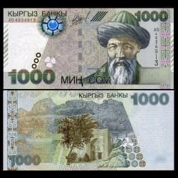 KIRGHIZISTAN - Billet de 1000 Som - Zhusup Balasagyn - 2000