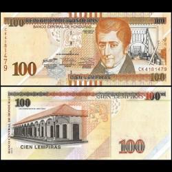 HONDURAS - Billet de 100 Lempiras - 2016 / 2018