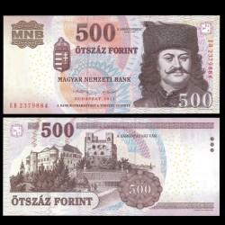HONGRIE - Billet de 500 Forint - 2013
