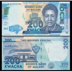 MALAWI - Billet de 200 Kwacha - 2013