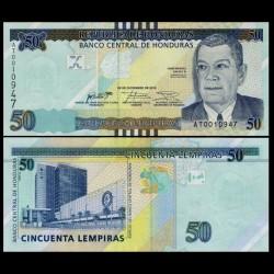 HONDURAS - Billet de 50 Lempiras - 2016 / 2018