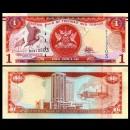 TRINITÉ-ET-TOBAGO - Billet de 1 DOLLAR - Oiseau Ibis rouge - 2006 / 2018