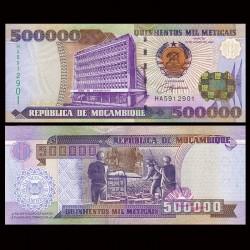 MOZAMBIQUE - Billet de 500000 Meticais - 16.06.2003