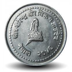NEPAL - Pièce de 10 Paisa - Bodnath - 1995