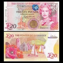 GUERNESEY - Billet de 20 Pounds - 100e anniversaire de la grande guerre (1918-2018) - 2018 P63a