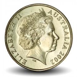 AUSTRALIE - PIECE de 1 DOLLAR - Année de l'Outback - 2002