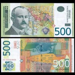 SERBIE - Billet de 500 Dinara - 2007 - Jovan Cvijić P51a