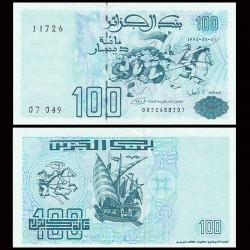 ALGERIE - Billet de 100 Dinars - 21.05.1992
