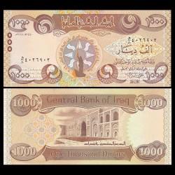 IRAK - Billet de 1000 Dinar - 2018