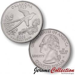 ETATS-UNIS / USA - PIECE de 25 Cents (Quarter States) - Oklahoma