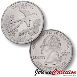 ETATS-UNIS / USA - PIECE de 25 Cents (Quarter States) - Oklahoma - 2008