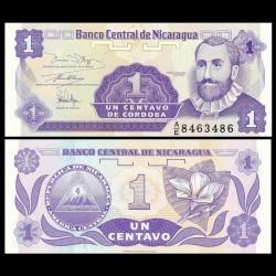 NICARAGUA - Billet de 1 Centavo de Córdoba - 1991